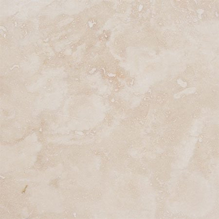 Light Travertine Honed 12x12