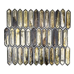 Artemis Golden Crust Glass Mosaic