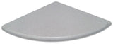Corner Soap Dish- Super Grey Quartz Polished