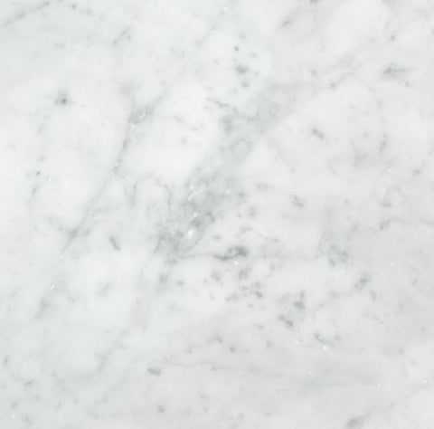 "Bianco Carrara Honed 6""x6"""