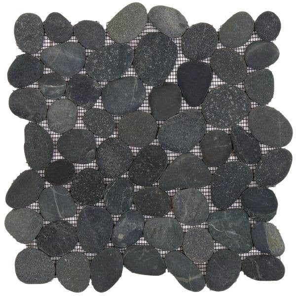 Bati Orient- GANO01R Black Rectified Matte Pebble