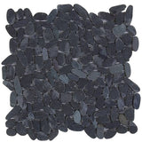Bati Orient- GANO15 Black Sliced Matte Pebble