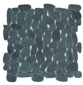 Bati Orient- PIMI28 Reconstituted Black Sliced Pebble