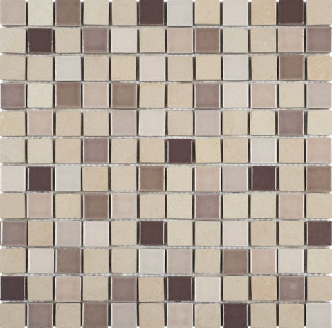 PIMI31- Beige Stone Brown/Beige Ceramic Mix