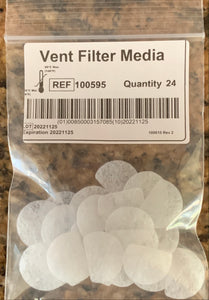 DreamWay Vent Filter Replacements (24 Pack) for use with the DreamPort System
