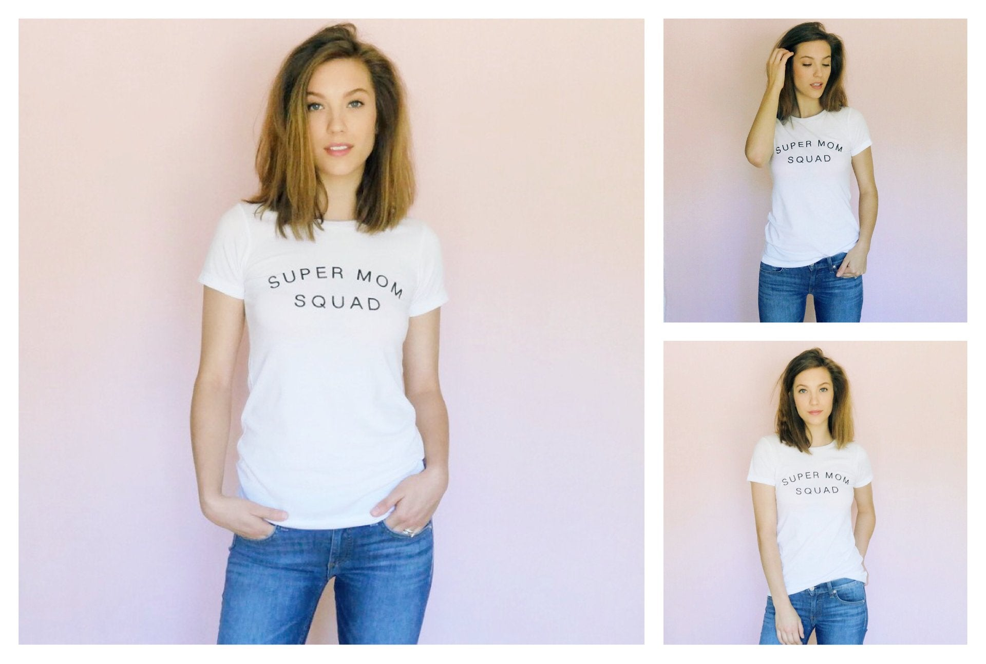 super mom squad tee t-shirt