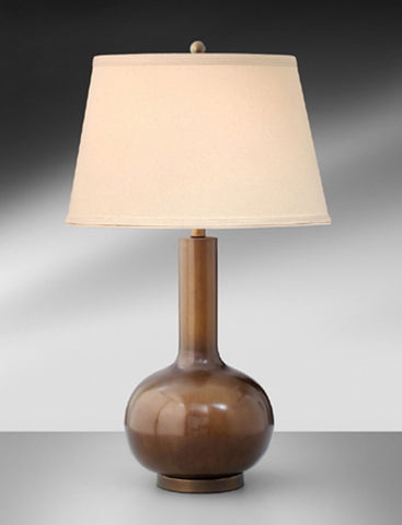 Contemporary Toffee Brown Table Lamp 102LH