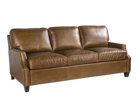 Palatial Leather Anderson Sofa