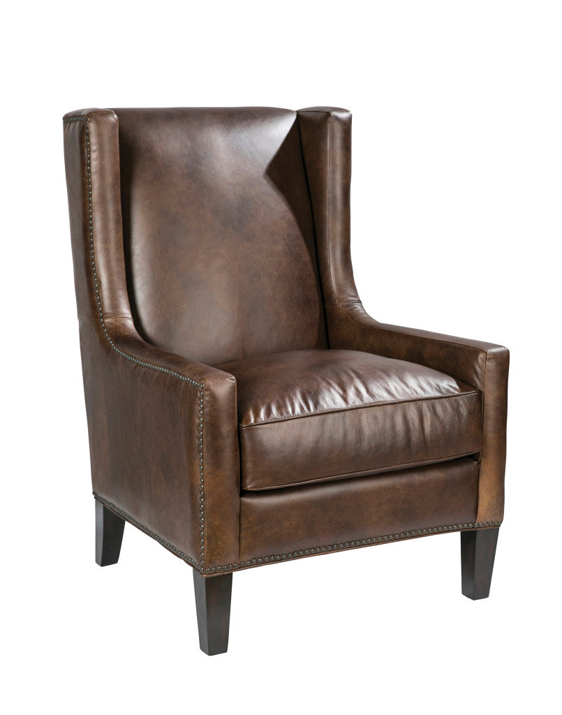 Palatial Leather Peterson Accent Chair 1323