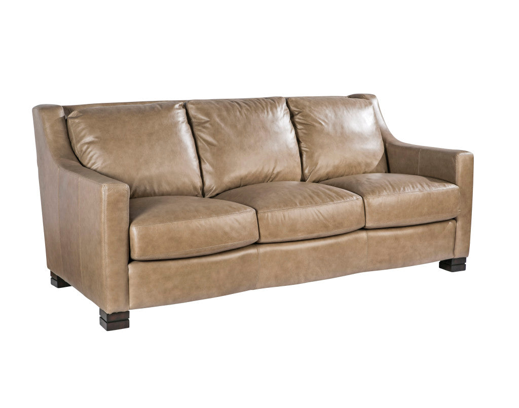 Palatial Leather Colby Sofa
