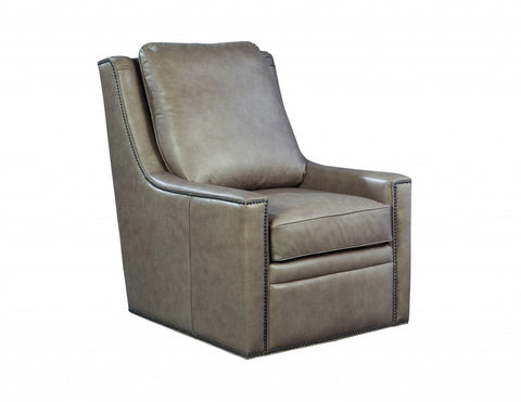 Palatial Leather Amanda Swivel Chair 16163-S