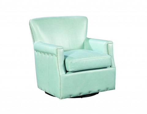 Palatial Leather Cary Swivel Chair 16183-S