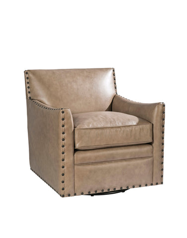 Palatial Leather Castiel Swivel Chair 16193-S