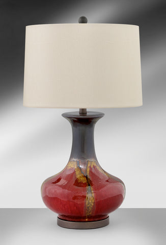 Transitional Glazed Ceramic Table Lamp 338DLRE