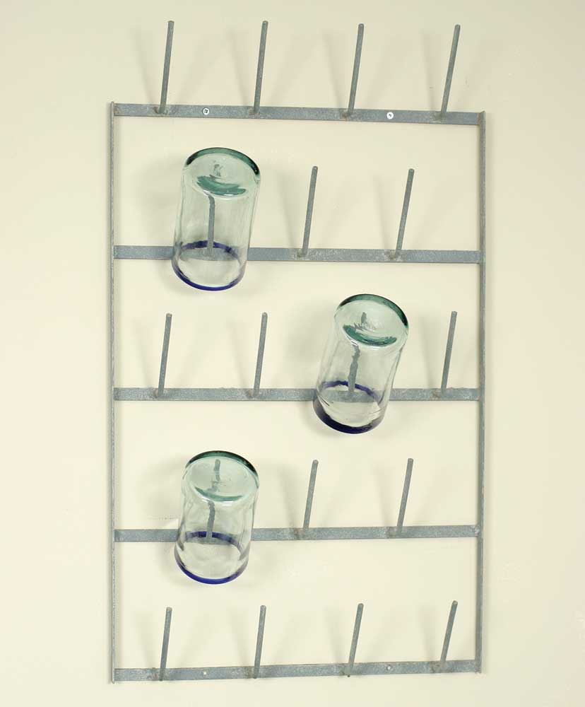 Wine Bottle Dryer Wall Rack