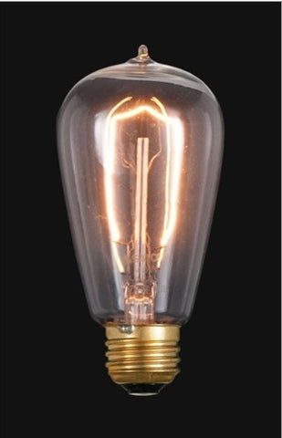 Vintage Style NEW Edison Base Hair Pin Filament Light Bulb 40 Watts