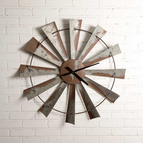 Windmill Wall Clock
