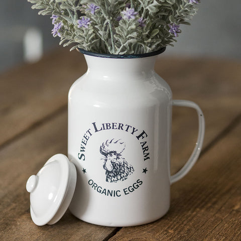 """Sweet Liberty Farm"" Canister"
