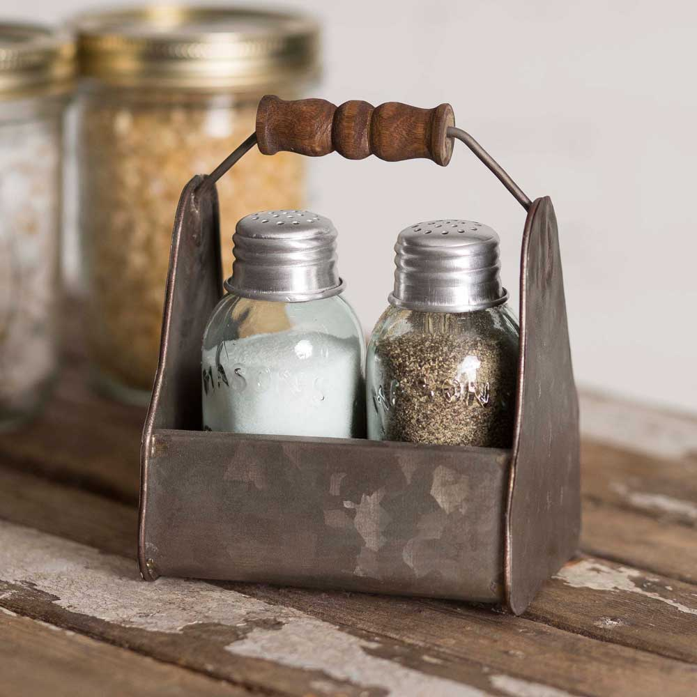 Tiny Toolbox Salt and Pepper Caddy
