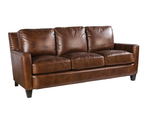 Palatial Leather Alvarado Sofa