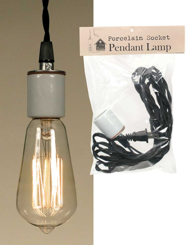 Porcelain Socket Pendant Lamp