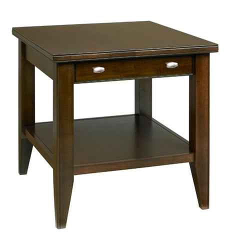 A. A. Laun Tribeca End Table With Drawer 2302