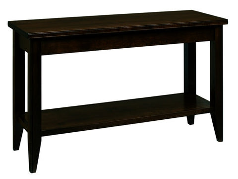 A. A. Laun Tribeca Sofa Table With Shelf 2309