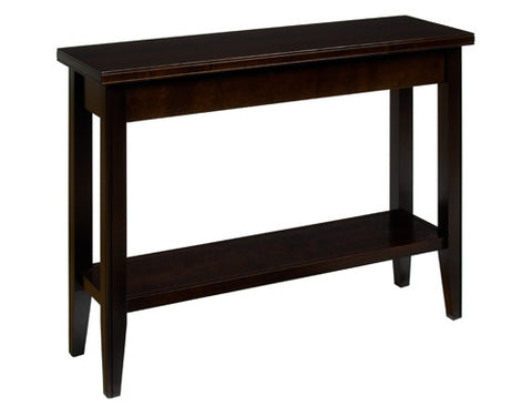 A. A. Laun Tribeca Condo Sofa Table With Shelf 2319