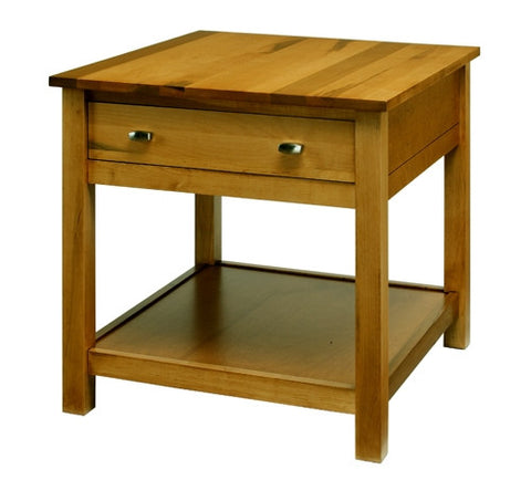 A. A. Laun Loft End Table With 1 Drawer 5202