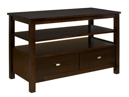 A. A. Laun Loft Entertainment Console, 1 Drawer And 1 Fixed Shelf 5242
