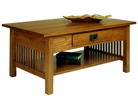 A. A. Laun Workbench Classics Cocktail Table With Drawer 2600