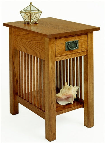 A. A. Laun Workbench Classics Chairside Table With Drawer 2606