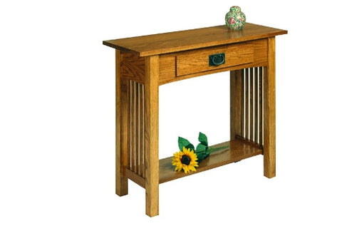 A. A. Laun Workbench Classics Sofa Table With Drawer 2609