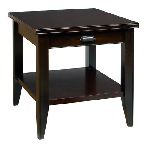 A. A. Laun Metropolitan End Table With Drawer 6302