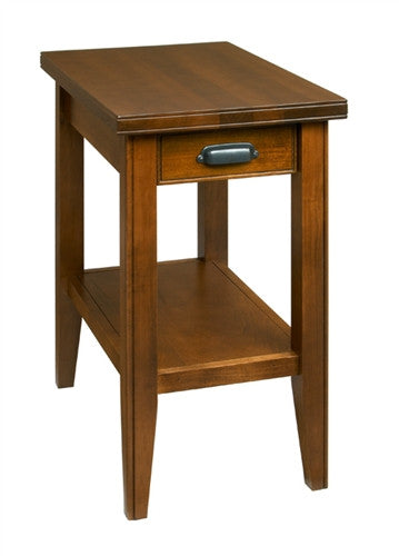 A. A. Laun Metropolitan Chairside Table With Drawer 6306