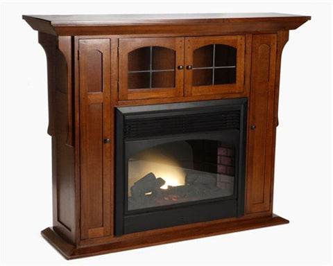 Mission Oak Fireplace AC9169M