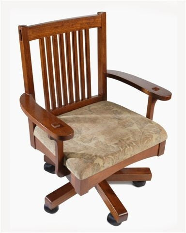 Mission Oak Arm Office Chair AC9192A