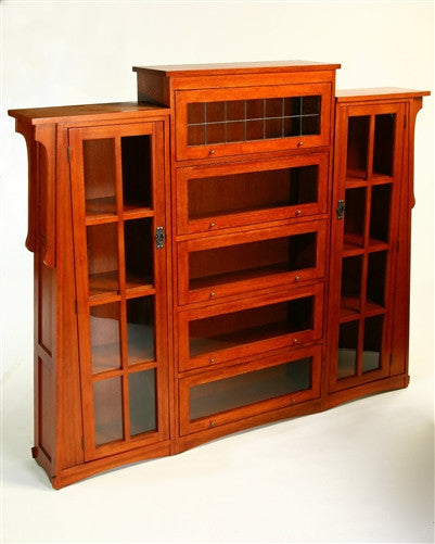 MISSION OAK LAWYERS BOOKCASE With PIERS AC9264 / 9265 ON SALE!!