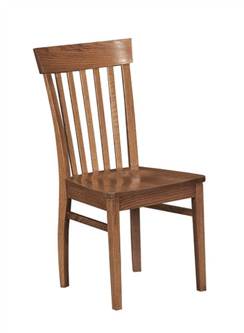 AMISH MISSION OAK VENICE SIDE CHAIR (x6) AM 101