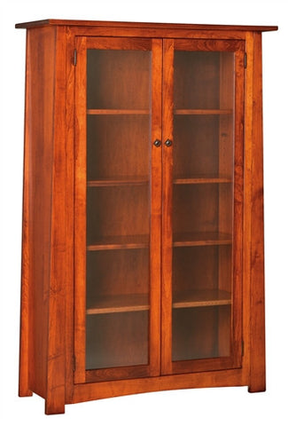 "CRAFTSMAN MISSION 61"" BOOKCASE AM 146"