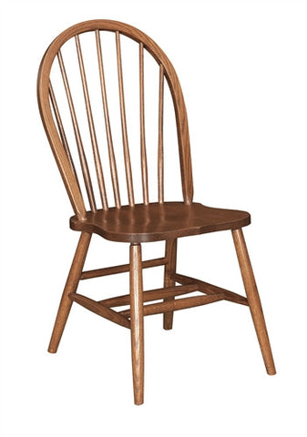 ... AMISH OAK BOW BACK SIDE CHAIR Set Of 6 (2 Arms, 4 Sides) ...