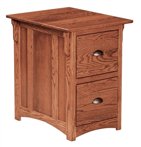 MISSION OAK REGULAR 2 DRAWER FILE AM 192