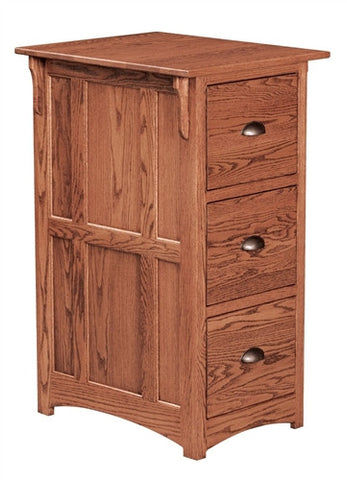 MISSION OAK REGULAR 3 DRAWER FILE AM 193