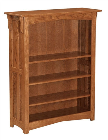 MISSION AMISH 4' OPEN BOOKCASE AM 194