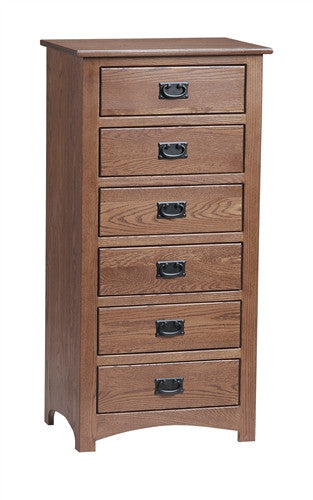 PIONEER MISSION OAK LINGERIE CHEST AM 209