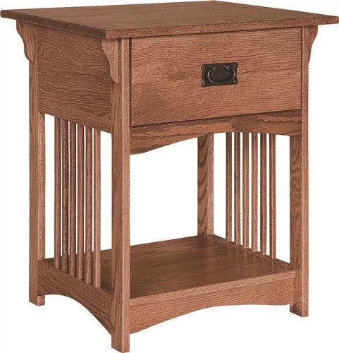 PIONEER MISSION 1 DRAWER NIGHTSTAND (CANNOT SHIP ALONE) AM 214