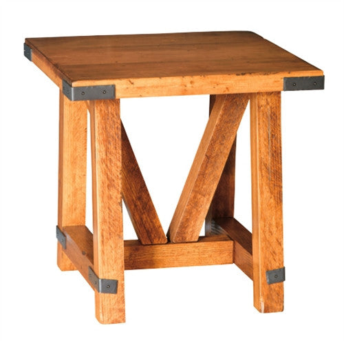 Olde Farmstead Large Square End Table