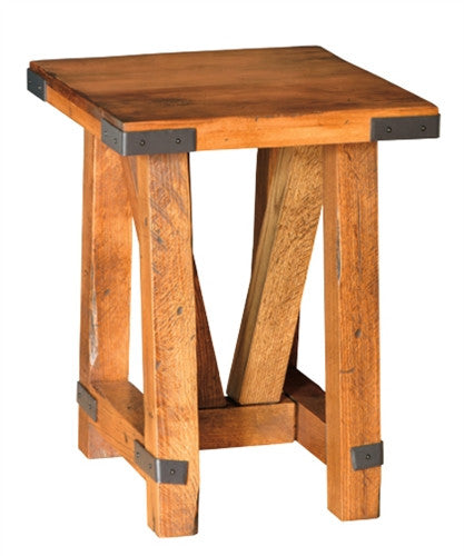 Olde Farmstead Chairside End Table