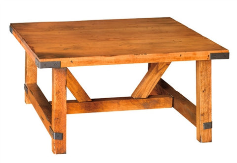 Olde Farmstead Large Square Coffee Table