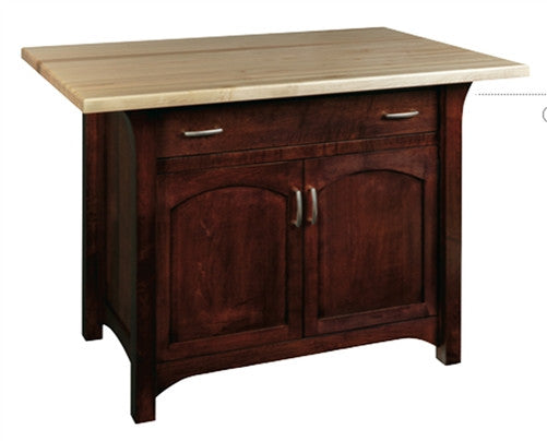 Monarch 11‰?ã2‰۪‰۪ Thick Butcher Block Island